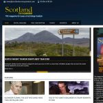 Screenshot of the Scotland Correspondent Website - clients of MC Software Solutions